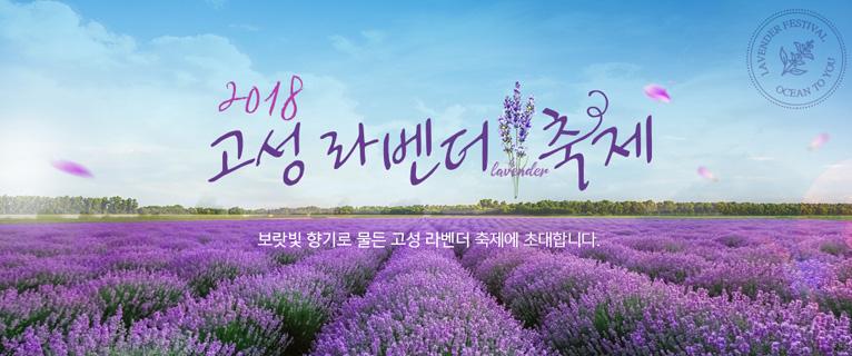 2018 고성 라벤더 축제